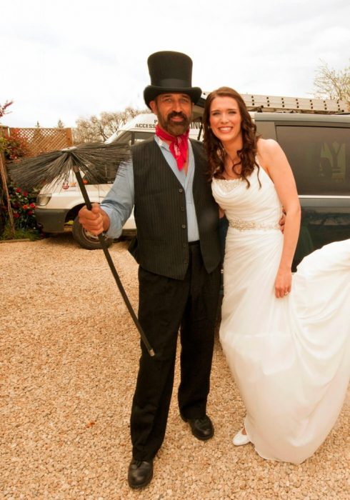 Lucky chimney sweep for weddings
